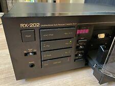 Vintage Nakamichi Rx-202 Unidirectional Auto Reverse Cassette Deck - Free S/H