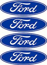 Ford Logo 4 Pack Sticker Decals