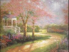 "Thomas Kinkade ""Morning Dogwood"" Two Postcards *New*"