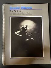 Basic Blues For Guitar Instruction Book 1978 By Fred Sokolow (Book Only)
