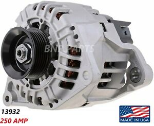250 AMP 13932 ALTERNATOR AUDI A4 A6 ALLROAD QUATTRO S4 HIGH OUTPUT Performance