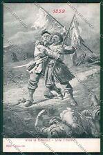 Militari Reggimentale Alterocca 3631 cartolina QQ7783