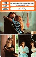 FICHE CINEMA : THE UNBELIEVABLE TRUTH - Shelly,Hartley 1990 L'Incroyable Vérité