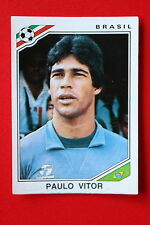 Panini MEXICO 86 N.255 BRASIL PAULO VITOR With back GOOD CONDITION!!