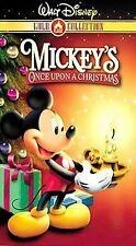 Mickeys Once Upon a Christmas (VHS, 2000, Gold Collection Edition)