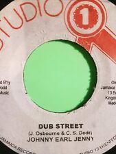 """DUB STREET JOHNNY OSBOURNE  JA 7"""" STUDIO ONE"""