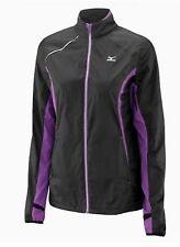 Mizuno ImpermaLite Jacket 77WS260-98 Womens Top Size Medium Black #4487