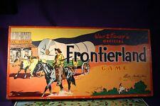 1955 DISNEYLAND FRONTIERLAND GAME IN THE BOX