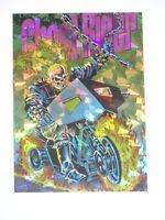 1994 Marvel Pepsi Cards Mexico PRISM INSERT #6 Card GHOST RIDER! PRISMA!