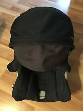 UPPABaby Nuna Pipa Baby Car seat Cushion Canopy Set Replacement Part Black