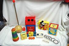 Assorted VINTAGE CHILDRENS TOYS (Fisher Price,Mattel,Playskool,GAF +) (#M4493)