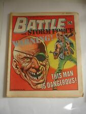 BATTLE With STORMFORCE  comic 7th March 1987
