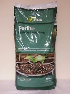Vitax Perlite Compost Additive 20 Litre New