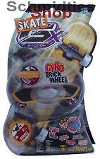 GX Skate Racers Gyro Trick Wheel Skateboard - Modell 05 (Schwarz)