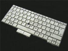 Genuine HP Compaq 2710p UK QWERTY English Silver Keyboard V070130BK1 LW