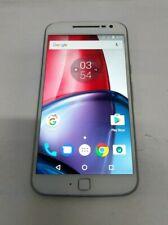New listing Motorola Moto G4 Plus 16Gb(Xt1644)- White- Gsm Unlocked- Fully Functional