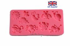 Animal Insect Silicone Fondant Mold Cake Decorating Sugarcraft Mould Tool Baking