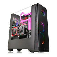 Thermaltake View 28 RGB Riing Edition Gull-Wing Window Mid Tower Case