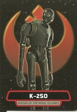 Star Wars Rogue One Series 2 K-2SO Heroes Rebel Alliance Insert Card #HR-4