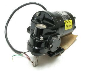 Bodine NSH-12RG 115 VDC 1/50HP 1.6RPM Gear Motor