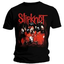 "Slipknot Band Frame Men's Black T-Shirt Large (Mens 40""- 42"") Regular SKTS03MB03"