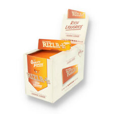 Rizla Liquorice Regular Cigarette Rolling Paper - Full Box of 100 Booklets
