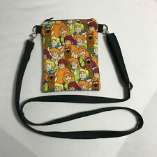 Crossbody/Shoulder-Handmade-Purse-Scooby Doo-Purse-Passport-Cell Phone bag