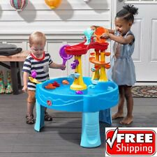 Kids Water Table Play Set with 13 Piece Accessories  for Toddler Outdoor Fun Toy