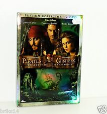 DVD VIDEO PIRATES DES CARAIBES LE SECRET DU COFFRE MAUDIT