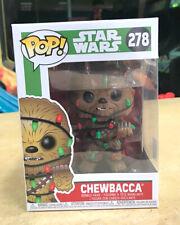 Funko Pop Star Wars Chewbacca Holiday Lights #278 BH 2018