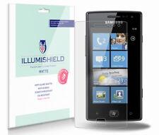 iLLumiShield Anti-Glare Matte Screen Protector 3x for Samsung Omnia W (I8350)