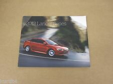 2012 Mitsubishi Lancer DE ES SE GT Ralliart GSR MR sales brochure dealer catalog