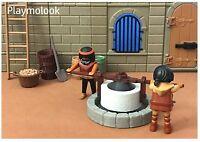 Ölmühle Mittelalterliche Custom Belen Teile Szenario und Playmobil Nicht