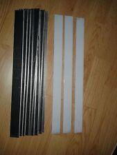 10 ALUMINIUM STRIPS 1MM 450 X 20MM