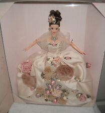 #9848 NRFB Mattel FAO Schwarz Toy Store Antique Rose Barbie Doll