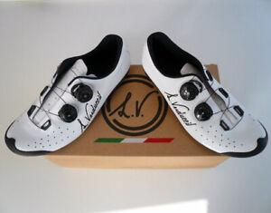 Luigino VERDUCCI VR-01 Top-End lightweight Rennrad Schuhe 44 UVP 399,-- NEU
