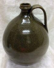 1975 Jugtown, Seagrove, N. C. Art Pottery, Frog-skin Glaze  Jug