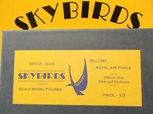 Skybirds Models. SET No 1. ROYAL AIR FORCE.