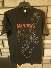 Maroon 5 Shirt Medium 2010 Concert Tour Exclusive graphics Black New