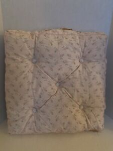 Rachel Ashwell Simply Shabby Chic Cotton Ditsy Pink Rose Floral Floor Cushion NW