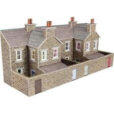 Metcalfe Kit - PN177. Low Relief Terraced House Backs - Stone Style.  N Scale.