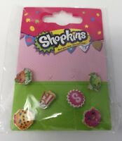 Brand New Shopkins Earring Set Series 1