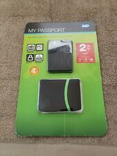 WD MY PASSPORT 2TB WITH CASE 2012 RELEASE!