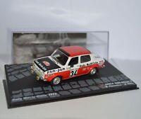 RALLY IXO DIECAST 1/43 Simca 1000 Rallye 2 Fiorentino-Gelin 1973  eRAL095
