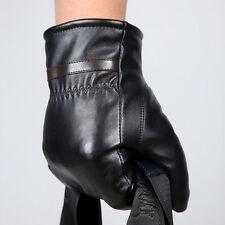 Wasserdicht Warm Leder Handschuhe Winterhandschuhe Einheitsgröße Herren Gloves
