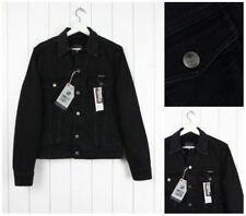 Cappotti e giacche da uomo neri in cotone con colletto