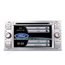 AUTORADIO SILVER FORD FOCUS MONDEO S-MAX KUGA GPS BLUETOOTH USB NAVIGATORE GPS