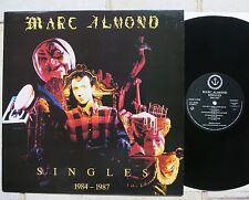 Marc Almond – Singles 1984-1987    Vinyl  LP   UK   Virgin – FAITH 3