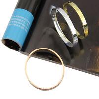Men's Women's Stainless Steel Lover Love Polished Cuff Bangle Bracelet Wristband