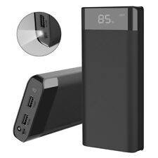 300000mAh External Power Bank 2USB Portable LCD LED Battery Charger for Phone